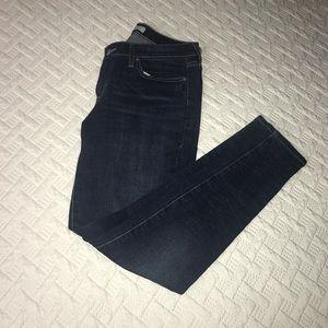 Dark Wash Levi's 535 Legging Skinny Jeans